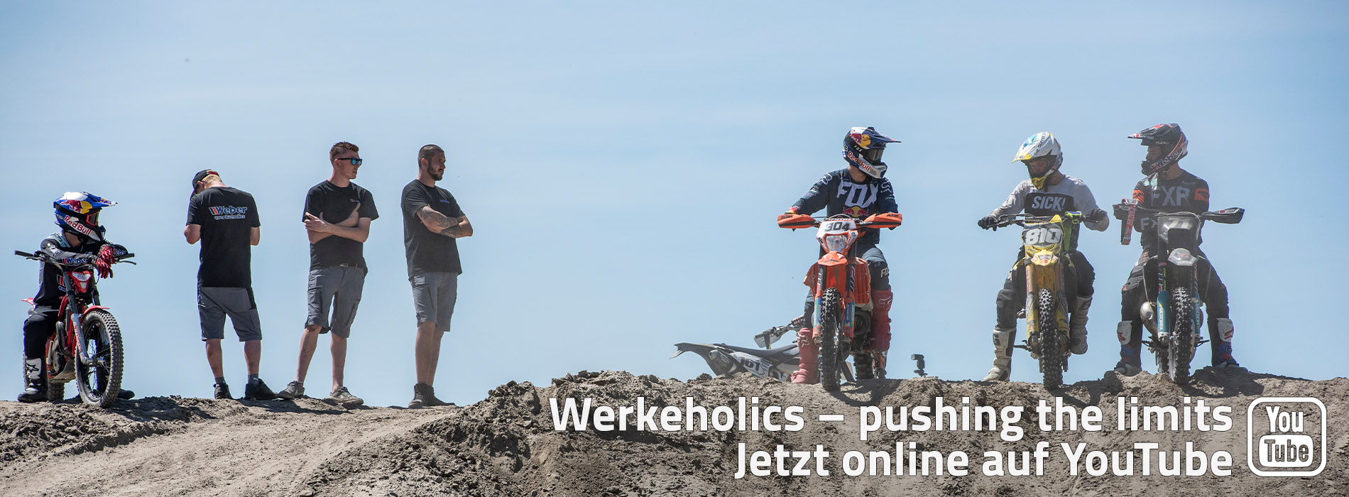 JETZT ONLINE! Werkeholics - puhsing the limits